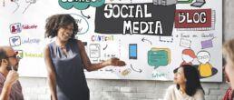 Posten Sie eigenen Content und teilen Sie gute Inhalte anderer Seiten in Social Media