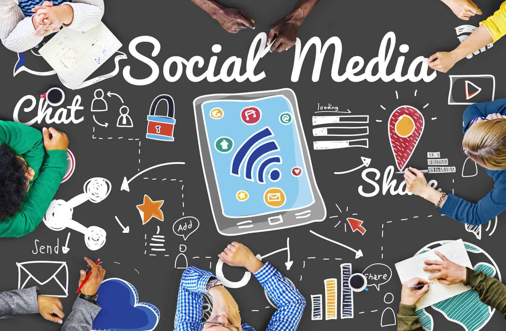 Die richtige Social Media-Strategie im Content Marketing ©Fotolia 2016/Rawpixel.com