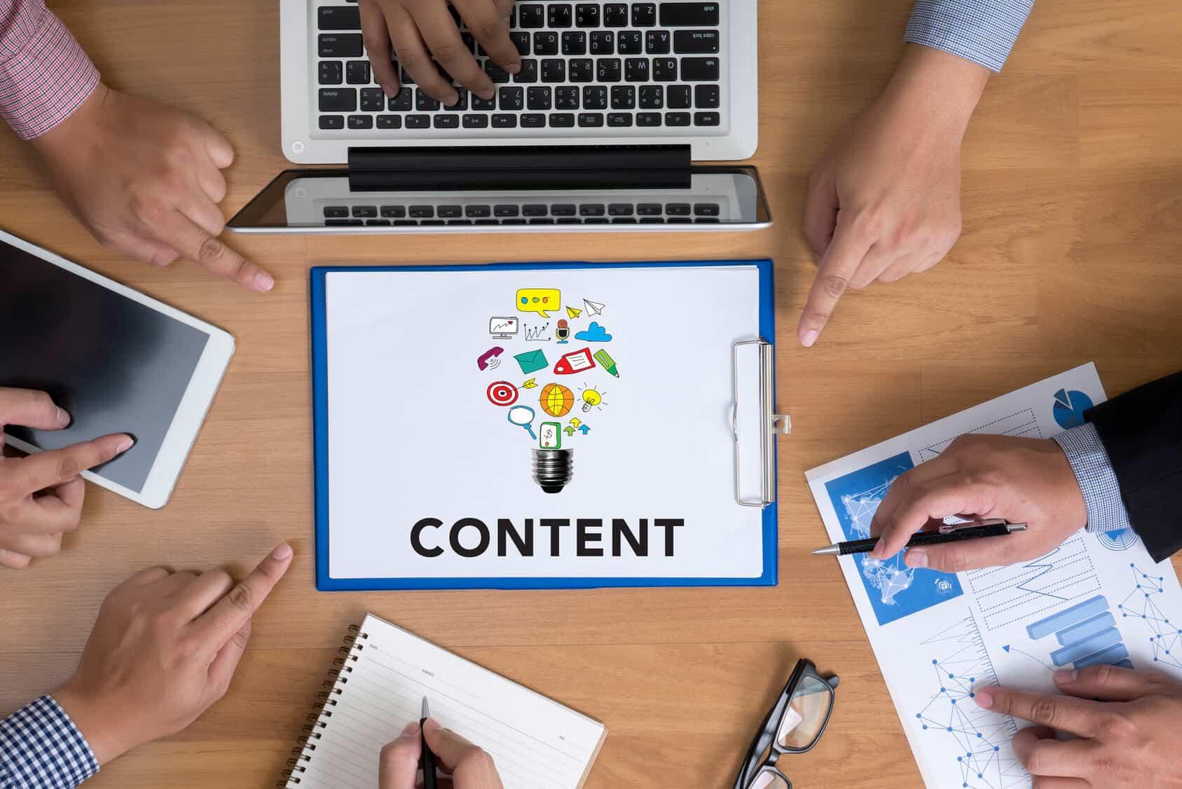 Warum Content-Marketing? © Fotolia 2016/ adiruch na chiangmai