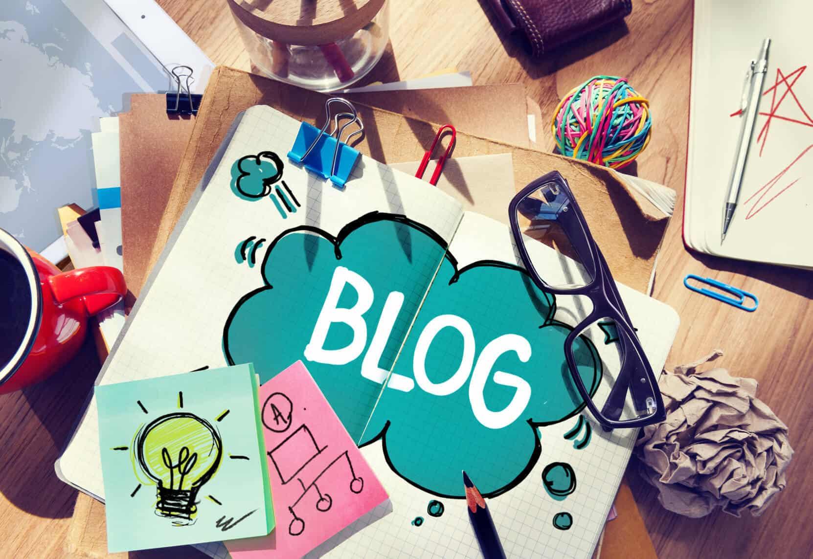 Wie schreibt man einen sehr guten Blogbeitrag © Fotolia 2015/ Rawpixel