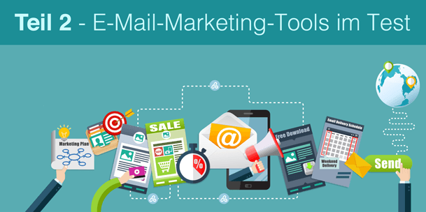 E-Mail-Marketing-Tools im Test - Teil 2 © Fotolia 2016/ arrow