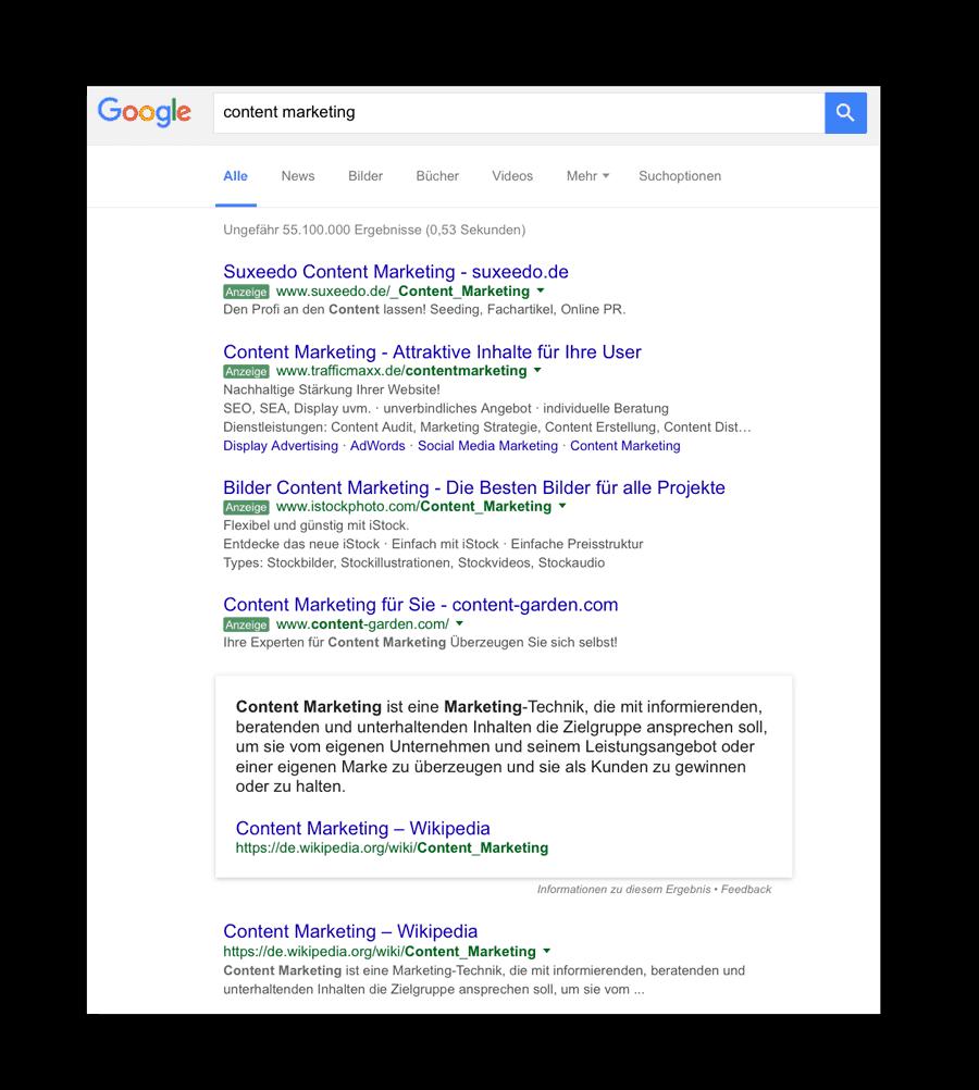 Suchmaschninenoptimierung