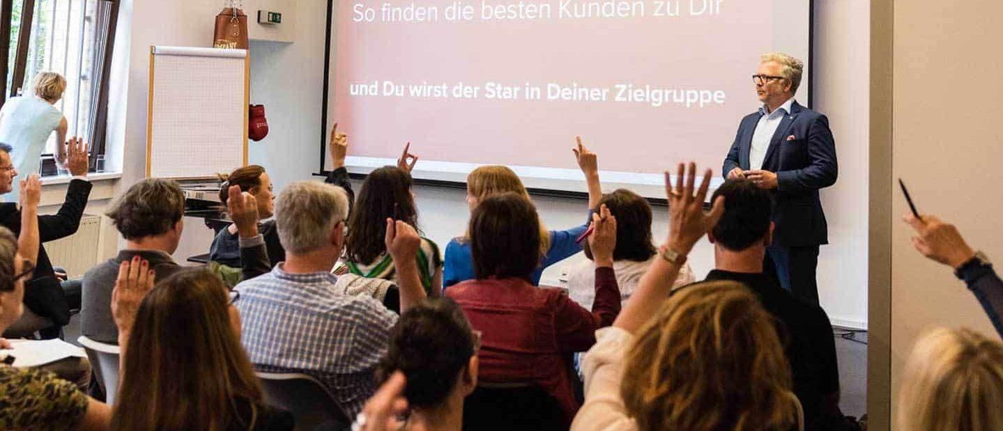 Marketing Seminar / © Dieter Düvelmeyer