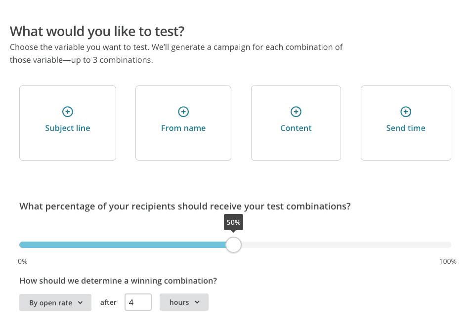 Mailchimp A/B Test | Die E-Mail-Marketing-Software für kleine und mittlere Unternehmen