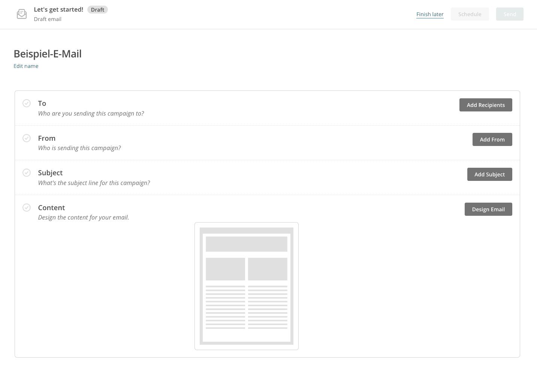 Mailchimp Editor | Die E-Mail-Marketing-Software für kleine und mittlere Unternehmen