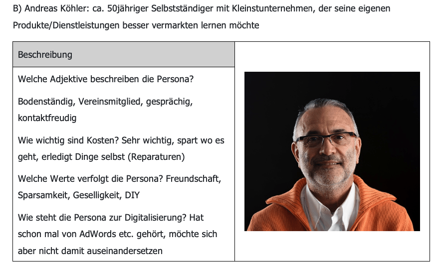 Unsere Buyer Persona Andreas Köhler